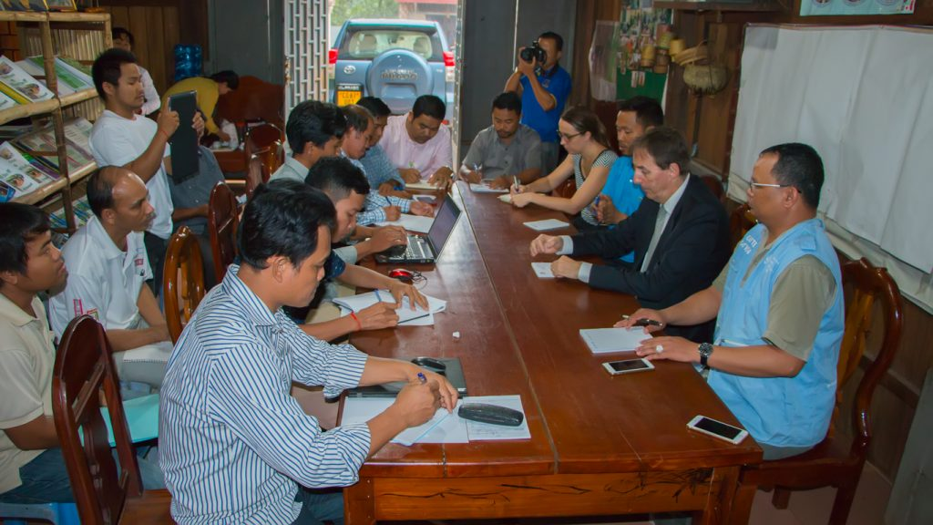 Preah Vihear Civil Society Network Meets Ambassador of European Union