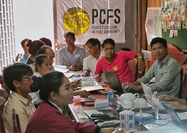 Training on Team Building by PCFS